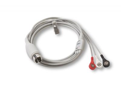 3 lead ekg kablo
